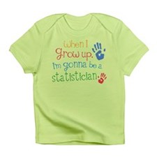 Kids Future Statistician Infant T-Shirt