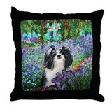 Shih Tzu Fine Art Eve Throw Pillow