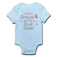 Kids Future Stock Trader Infant Bodysuit