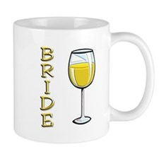 Bride (wine glass) Mug