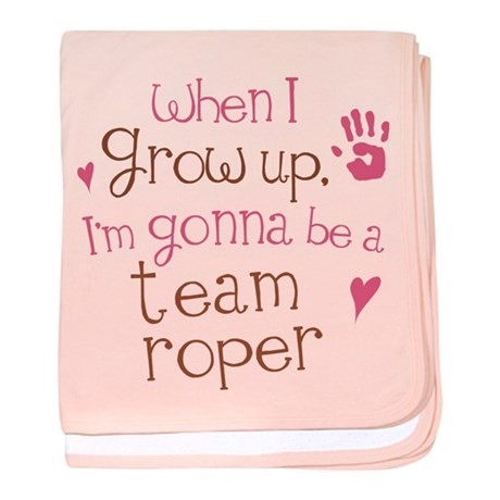 Future Team Roper baby blanket