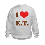 I Love E.T. Sweatshirt
