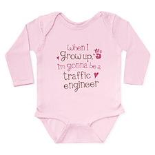 Future Traffic Engineer Long Sleeve Infant Bodysui
