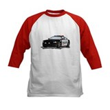 policeCar Baseball Jersey