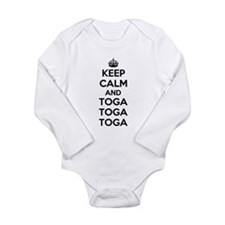 Keep Calm and Toga Onesie Romper Suit