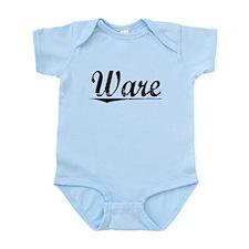 Ware, Vintage Infant Bodysuit