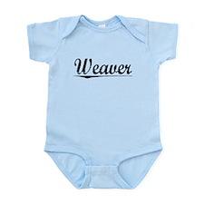 Weaver, Vintage Infant Bodysuit