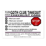 Club Takeout Postcards (Package of 8)