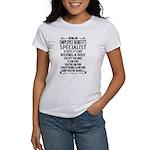 Sweeping Zen Women's Plus Size V-Neck Dark T-Shirt