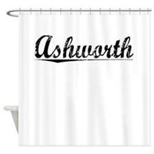 Ashworth, Vintage Shower Curtain