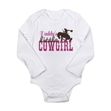 Daddys Little Cowgirl Long Sleeve Infant Bodysuit