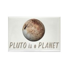 Pluto is a Planet Rectangle Magnet
