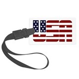 USA Large Luggage Tag