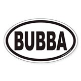 BUBBA Euro Oval Decal