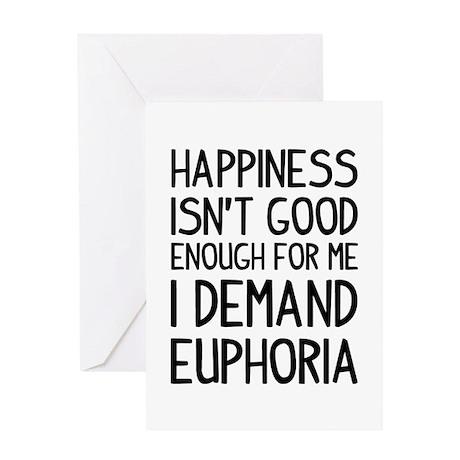 Happy Euphoria Greeting Card