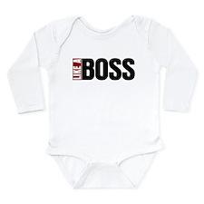 Like A Boss Long Sleeve Infant Bodysuit