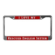 I Love My Rescued English Setter