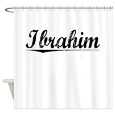 Ibrahim, Vintage Shower Curtain