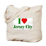 I Love Jersey City Tote Bag