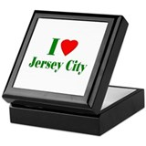 I Love Jersey City Keepsake Box