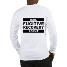 Black FRA on Long Sleeve T-Shirt