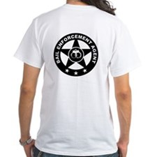 Bail Enforcement Agent Logo on Shirt