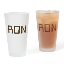 Ron Circuit Drinking Glass