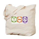 Eat Sleep Environmental Tote Bag