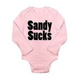 Sandy Sucks Long Sleeve Infant Bodysuit