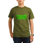 Ghost Hunter Green Organic Men's T-Shirt (dark)
