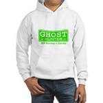 Ghost Hunter Green Hooded Sweatshirt