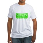 Ghost Hunter Green Fitted T-Shirt