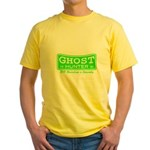 Ghost Hunter Green Yellow T-Shirt