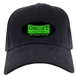 Ghost Hunter Green Black Cap