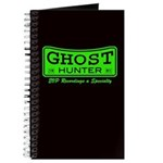 Ghost Hunter Green Journal
