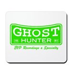 Ghost Hunter Green Mousepad