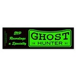 Ghost Hunter Green Sticker (Bumper)