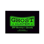 Ghost Hunter Green Rectangle Magnet (10 pack)