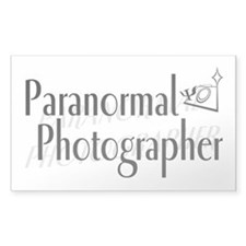 Paranormal Photographer Rectangle Decal