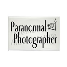 Paranormal Photographer Rectangle Magnet