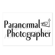 Paranormal Photographer Postcards (Package of 8)