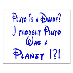 Pluto: Dwarf or Planet? Small Poster
