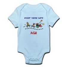 Personalized Birthday Train Onesie