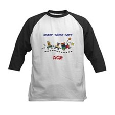 Personalized Birthday Train Tee