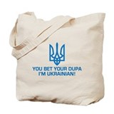 Funny Ukrainian Dupa Tote Bag
