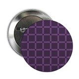 "Purple Check Grid Pattern 2.25"" Button"