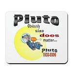 Pluto 1930-2006 Mousepad