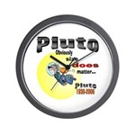 Pluto 1930-2006 Wall Clock