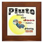Pluto 1930-2006 Framed Tile