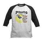 Pluto 1930-2006 Kids Baseball Jersey
